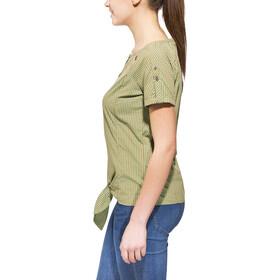 SALEWA Landro Chemise manches courtes Dry, S/S Femme, m myrtle/terrac/asse